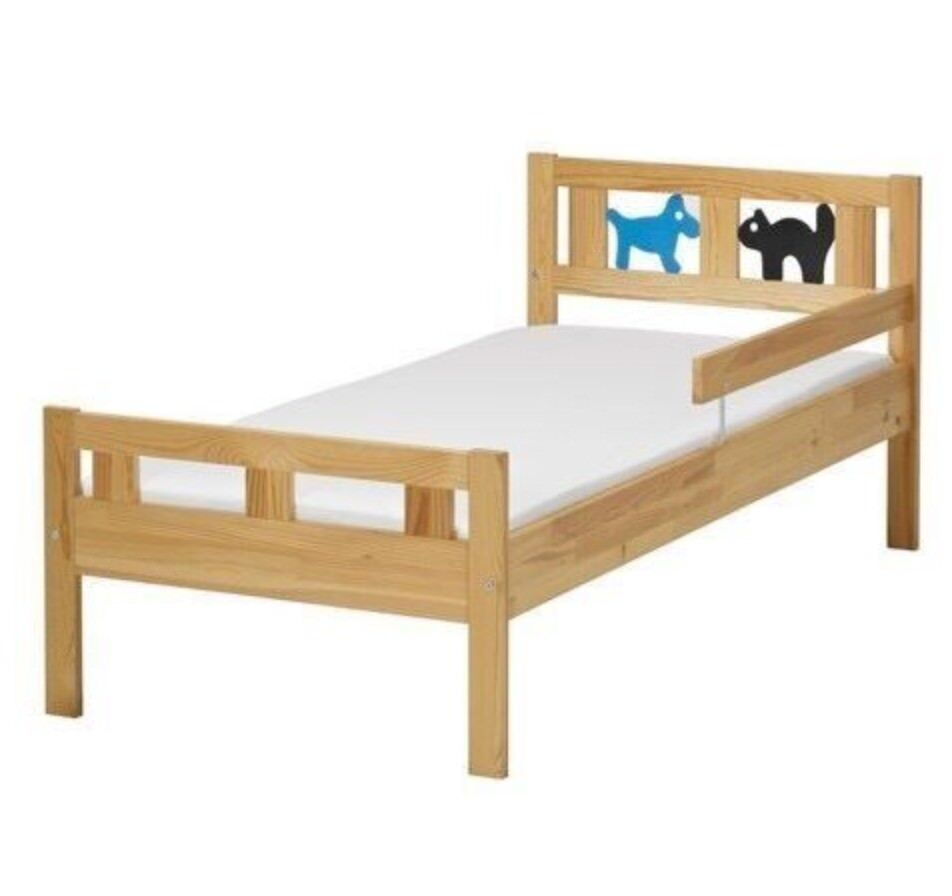 IKEA Kritter Kids Bed | Complete with mattress | in Leyton ...