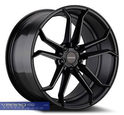 Varro VD02 9,5x19&11x20 Felgen für Chevrolet Corvette C5 C6 C7 Convertible Neu ()