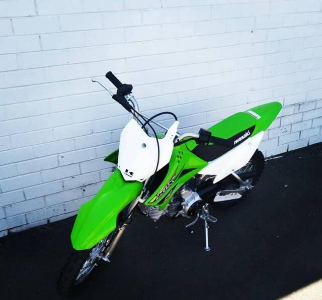 New 2019 Kawasaki KLX 110 Semi Auto  Last one left at this