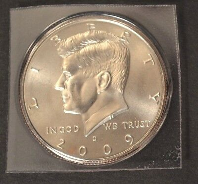 2009 D Kennedy Half Dollar Satin Finish In Mint Packaging VERY LOW MINTAGE ()