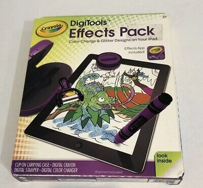 Crayola DigiTools Effects Pack Purple - Apple iPad Color Glitter Design Griffin