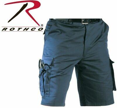 7 Tactical Shorts (NAVY BLUE ROTHCO 78211 Tactical Shorts 7 Pocket Police EMS & EMT Uniform S-2X)