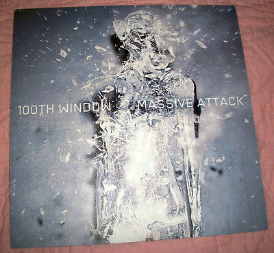 Massive Attack 100th Window Rare Textured Thick Stock Promo Poster