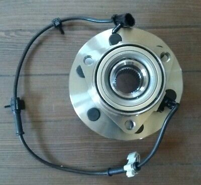 Front Wheel Hub & Bearing w/ ABS for 00-13 Chevy GMC Pickup Truck  4X4 4WD AWD