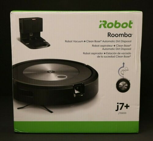 (RI1) iRobot Roomba J7+ Robot Vacuum + Clean base Automatic Dirt Disposal *NEW*