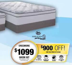 Serta aMAYzing 24 Day Sale! Queen Mattress *SAVE $900!* (Creemore) Serta aMAYzing 24 Day Sale! @ Mattresesforless.ca