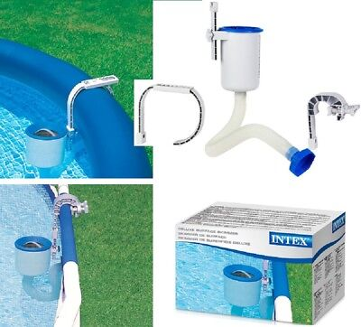 Swimming Pool Wall Mount Surface Skimmer Above Ground Debris Cleaner Basket  ()