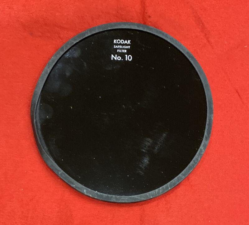 Kodak Boxed 5 inch No. 10 safelight filter