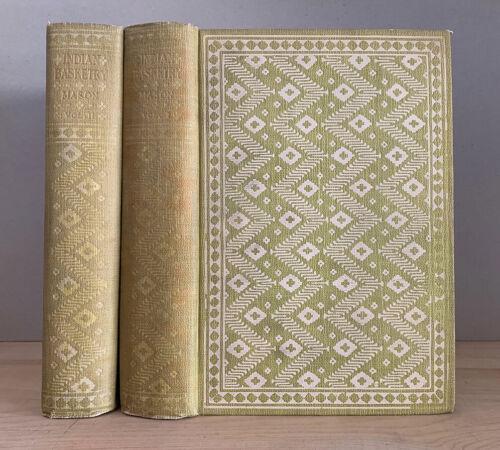 INDIAN BASKETRY. Otis Tufton Mason. 2 Volumes. 1905. Scarce