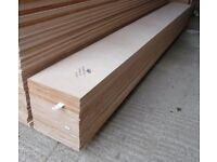 50 Pieces of NEW 12mm B/BB Grade Birch Plywood 8ft x 10.5in (2440mm x 265mm)