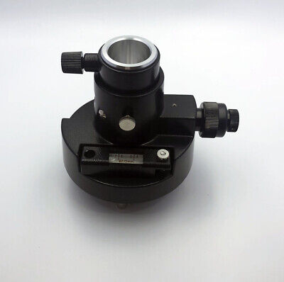 New Black Tribrach Adapter With Optical Plummet For Total Stations Prism Set