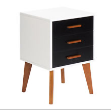 Two Tones Bedside Table Scandinavian Style Perth CBD Perth City Preview