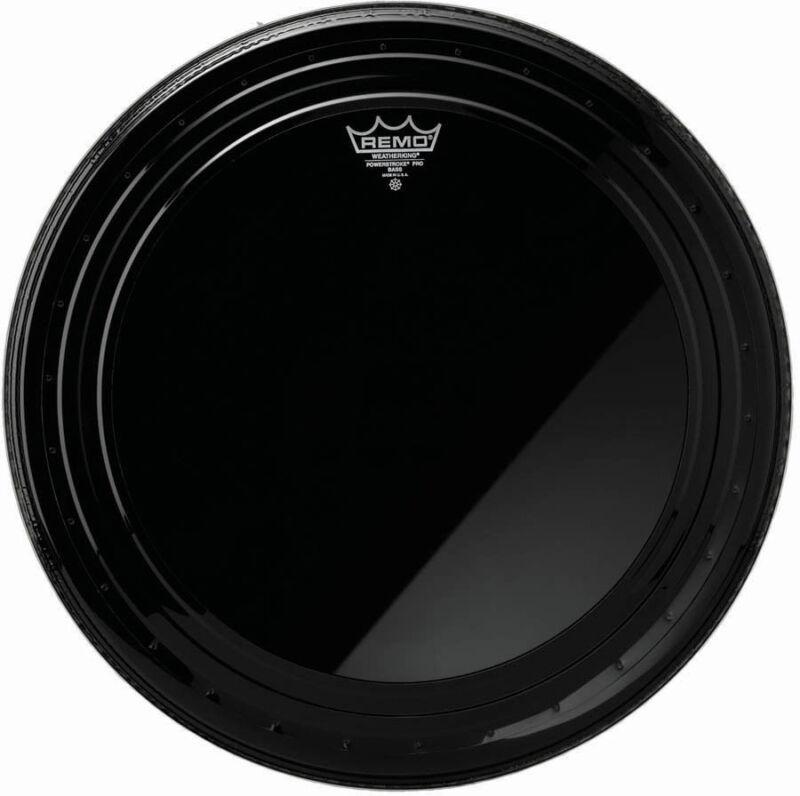 "Remo 22"" Ebony Powerstroke Pro Bass Drum Head"