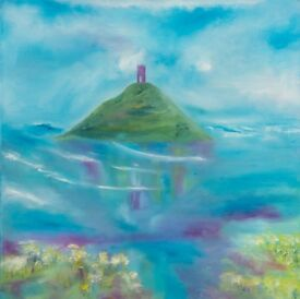 Painting Glass Isle Tor 2
