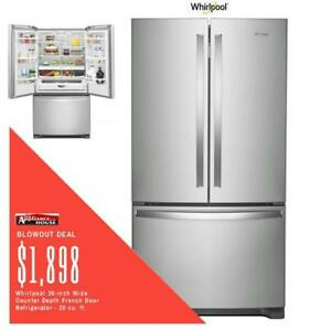 Milton Favourite ApplianceHouse has the best deals on Whirlpool Refrigerators
