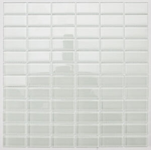 white subway glass mosaic tile for bathroom kitchen backsplash