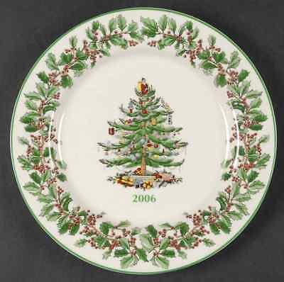 Spode CHRISTMAS TREE (GREEN TRIM) 2006 Steinmart Collector Plate 6497619