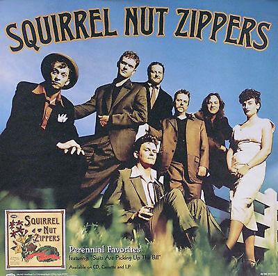 Squirrel Nut Zippers 1998 Perennial Favorites Original Poster