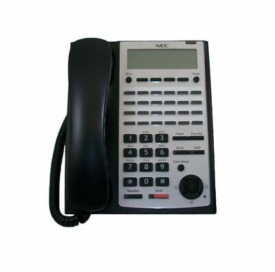 Nec Sl1100 Ip4ww-24txh-b-tel 1100063 24 Button Black Digital Phone
