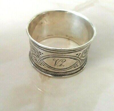Napkin Rings Clips Sterling Silver Napkin Ring