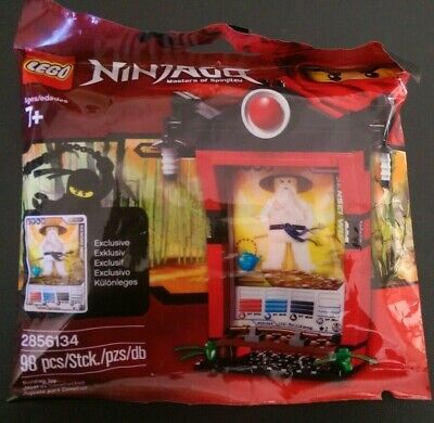 LEGO Ninjago – #2856134 Ninjago Card Shrine Brand New in Sealed Polybag
