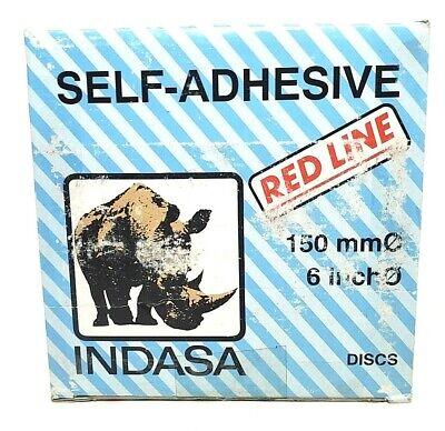 Indasa Red Line 6in Self Adhesive Sanding Discs 360 Grit Nip