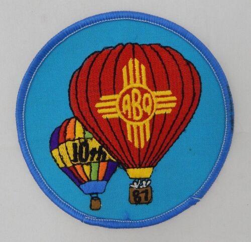 1981 Albuquerque International Balloon Fiesta OFFICIAL Event Patch