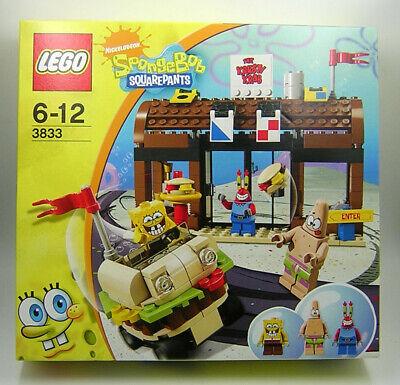 SpongeBob SquarePants Lego 3833 Krusty Krab Adventures Factory Sealed MIB