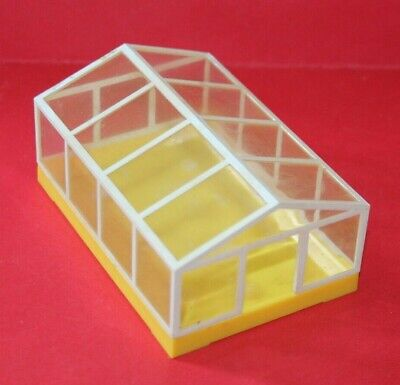 Vintage Dolls House Lundby Greenhouse