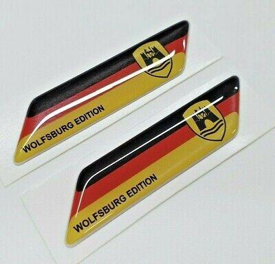 Fits VW T4 T5 T6 Van Beetle Golf GTi 70mm exterior Badges x2 Decals Stickers