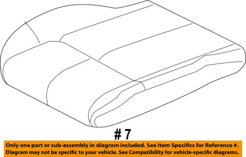 Jeep CHRYSLER OEM Grand Cherokee Front Seat-Cushion Bottom Cover 1BF981D5AA