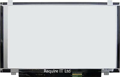 "NEW LAPTOP SCREEN 14.0"" LED HD GLOSSY PANEL ONLY FOR DELL ALIENWARE N1WNK 0N1WNK"