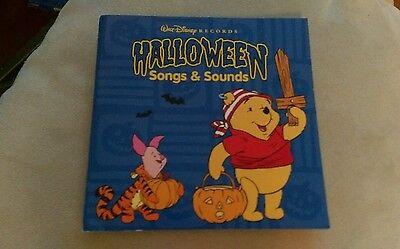Winnie Pooh Halloween Songs (Walt Disney Halloween Songs & Sounds CD Winnie The Pooh Mickey Mouse Goofy oop)