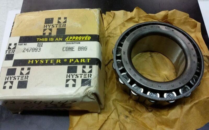 Hyster Forklift 247093 Genuine Roller Bearing NEW