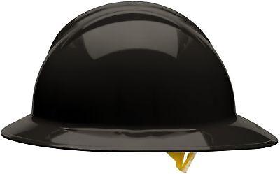 Bullard Full Brim Hard Hat With 6 Point Pinlock Suspension Black
