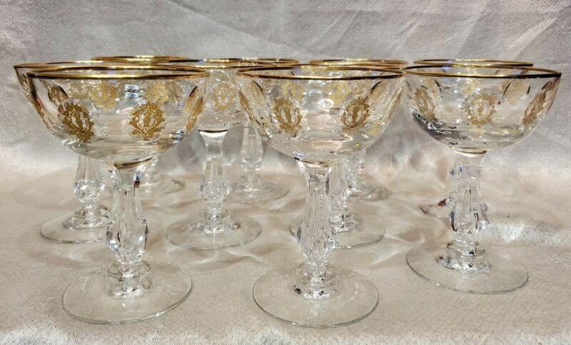 Tiffin Palais Versailles Champagne or Sherbet glass