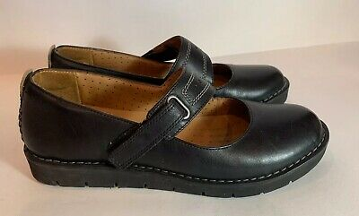 Clarks Artisan Unstructured Velco Mary Jane Loafers Shoes-7 1/2 M Comfortable *