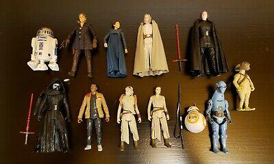 """Star Wars Force Awakens Lot TFA Black Series Kylo Ren 3.75"""""""