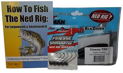 Rig Kit - Ned Rig Kit - Z-Man Finesse T.R.D. & Finesse Shroomz Jig Heads & How-To Guide