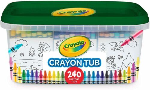 Crayola 240 Crayons, Bulk Crayon Set, 2 of Each Color