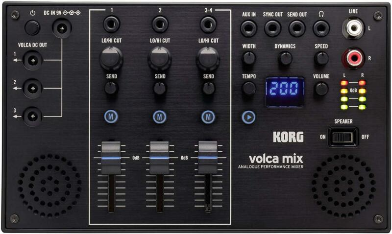 KORG 4 Channel Analog Mixer Volca Mix Built-in Stereo Speaker New in Box