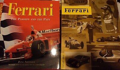 Ferrari 2011 yearbook, (100 euros new!) & Ferrari F1 'passion and the pain' book