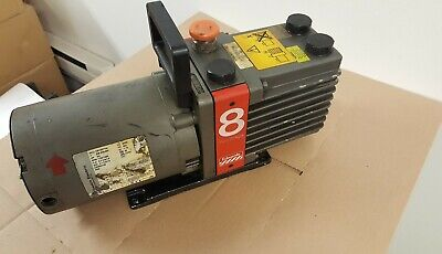 Edwards 2 Stage Vacuum Pump E2m8 Wfranklin Electric 34hp Motor 1301007144
