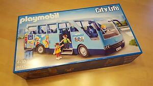 Playmobil 9117 Schulbus Fun Park 2016 Neu Sonderedition selten mit Tasche
