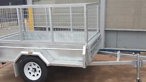 New 7x4 Galvanised Caged Trailer Hindmarsh Charles Sturt Area Preview
