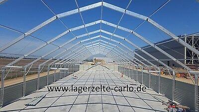 Thermo Lagerhalle Schneelasthalle 25x20x4.2 Lagerzelt Leichtbauhalle Hallenbau