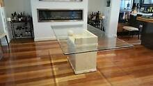 Dining table - Glass Top Brighton East Bayside Area Preview