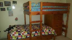 Bunkers Bed-MidLine Longwall Bunk/MidLine Chest/Underbed drawers