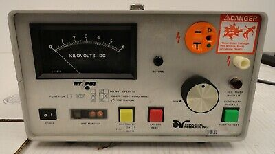 Associated Research Ac Hypot Ground Continuity Test Set Model 5060at 2d3.31jk