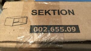 New in Box Ikea Sektion White Cabinet 36 wide  24 deep 15 high